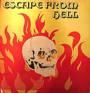Tapper Zukie - Escape From Hell lp (Jamaican Recordings)