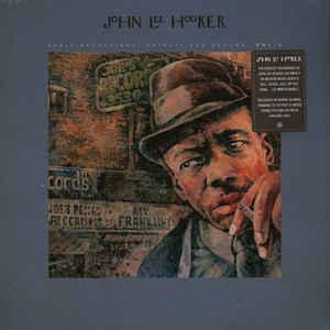 John Lee Hooker - Early Recordings Detroit & Beyond Vol 2 dbl lp