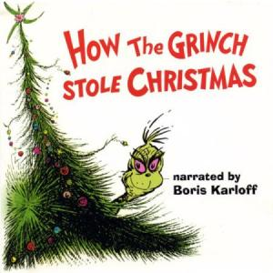 Dr. Seuss' How The Grinch Stole Christmas lp (UMG) GREEN VINYL