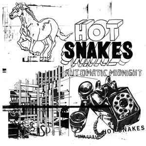 Hot Snakes - Automatic Midnight lp (Sub Pop) ORANGE VINYL