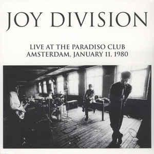 Joy Division - Live At The Paradiso Club lp (Lively Youth)