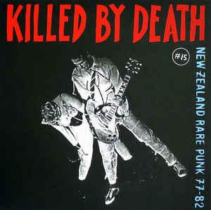 Killed By Death #15 New Zealand Rare Punk 77-82 lp (Redrum)
