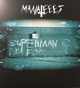 Manateees - Superman Dam Fool lp (Blak Skul Records)