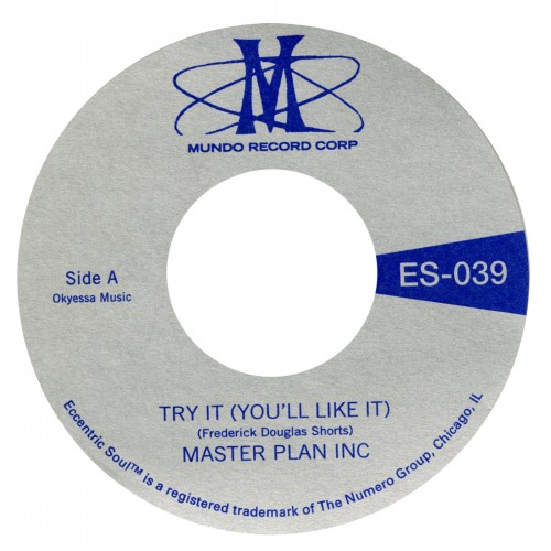 "Master Plan Inc - Try It (You'll Like It) 7"" (Numero)"