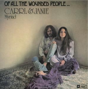 Carll & Janie Myriad - Of All The Wounded People lp (Blank)