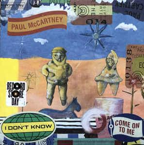 "Paul McCartney - I Don't Know 7"" (Capitol)"