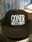 Goner Records Cap White Lettering U.S. SHIPPING INCLUDED!
