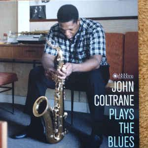 John Coltrane - Plays The Blues lp (Jazz Images)