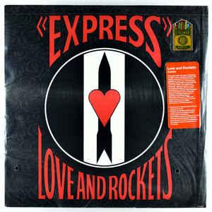 Love and Rockets - Express lp RED WAX (Drastic Plastic)