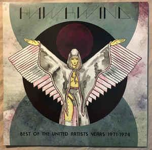 Hawkwind - Best of the United Artists Years 1971-74 lp (Rhino)