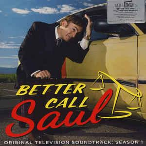 Better Call Saul Original TV Soundtrack Season 1 lp (Music On V