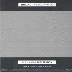 Shellac - The End of Radio dbl lp + cd [Touch and Go]