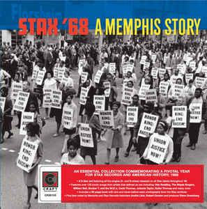 Stax '68 A Memphis Story 5 cd boxset (Craft Recordings/Stax)