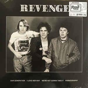 "The Revenge - s/t 12"" [In The Red]"