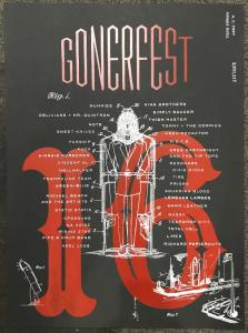 Gonerfest 16 Poster International Only