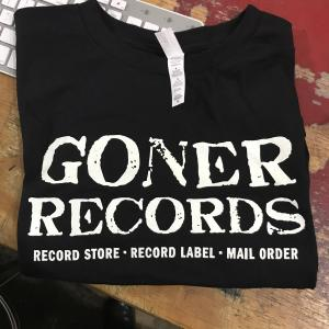 Goner T Shirt - Record Store Label MailOrder - M FREE US SHIP