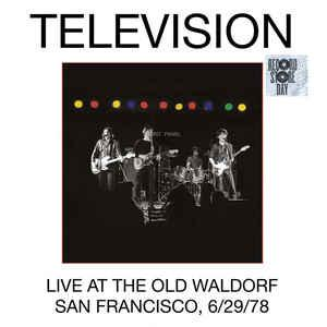 Television - Live At the Old Waldorf dbl lp (Elektra/Rhino )