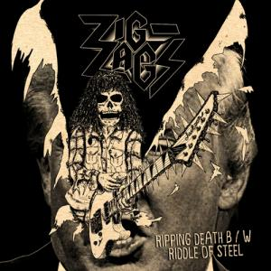 "ZIG-ZAGS - Ripping Death 7"" (Famous Death)"